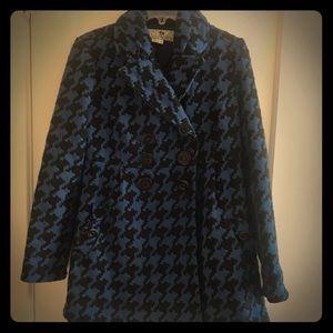 Gently used Jolt plaid pea coat jacket
